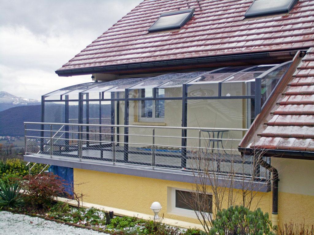 Copertura scorrevole per terrazzi CORSO GLASS™