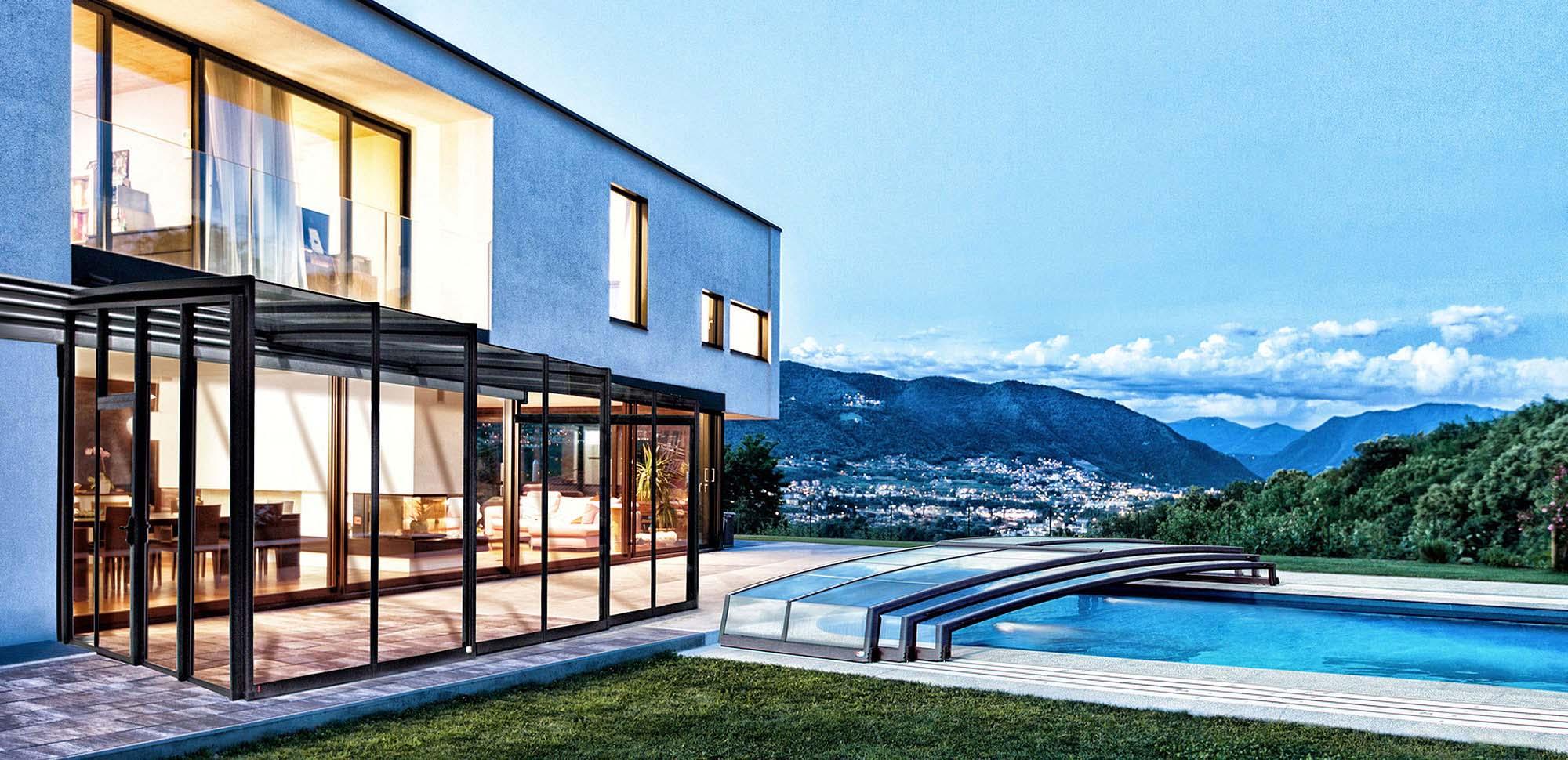 Coprire Terrazzo Con Veranda verande per terrazzi | alukov srl